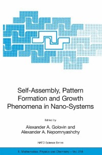 Cover Self-Assembly, Pattern Formation and Growth Phenomena in Nano-Systems