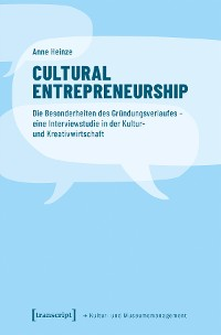 Cover Cultural Entrepreneurship
