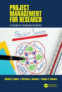 Cover Project Management for Research