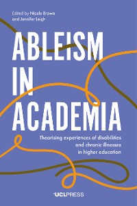Cover Ableism in Academia