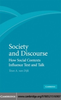 Cover Society and Discourse