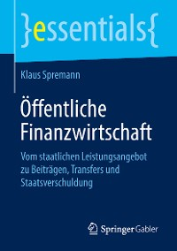 Cover Öffentliche Finanzwirtschaft