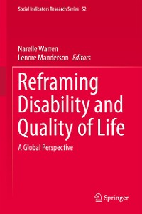 Cover Reframing Disability and Quality of Life