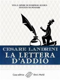 Cover La lettera d'addio