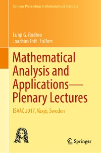 Cover Mathematical Analysis and Applications—Plenary Lectures