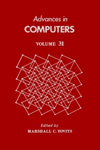 Cover Advances in Computers