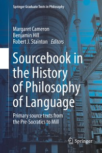 Cover Sourcebook in the History of Philosophy of Language