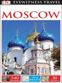 Cover DK Eyewitness Travel Guide Moscow