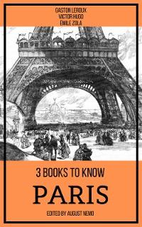 Cover 3 books to know Paris