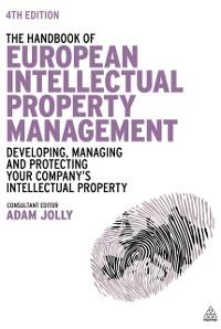 Cover Handbook of European Intellectual Property Management
