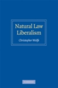 Cover Natural Law Liberalism