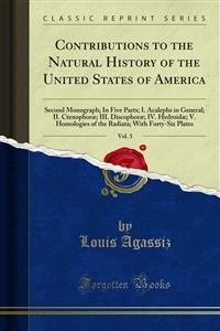 Cover Contributions to the Natural History of the United States of America