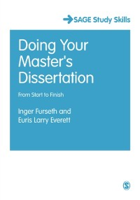 Cover Doing Your Master's Dissertation