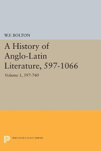 Cover History of Anglo-Latin Literature, 597-740