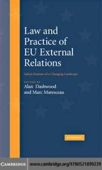 Cover Law and Practice of EU External Relations