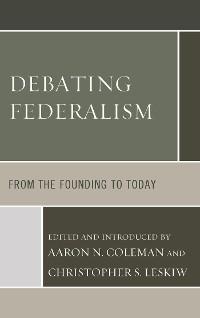 Cover Debating Federalism