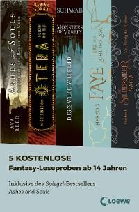 Cover 5 kostenlose Fantasy-Leseproben ab 14 Jahren