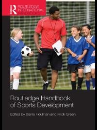 Cover Routledge Handbook of Sports Development