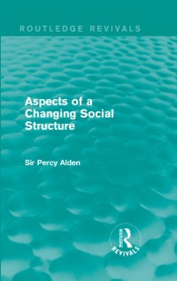 Cover Aspects of a Changing Social Structure