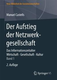 Cover Der Aufstieg der Netzwerkgesellschaft