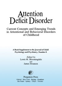 Cover Current Concepts and Emerging Trends in Attentional and Behavioral Disorders of Childhood