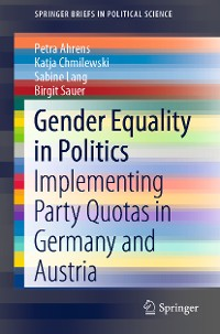 Cover Gender Equality in Politics