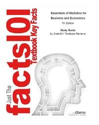 Cover Essentials of Statistics for Business and Economics