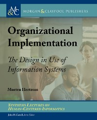 Cover Organizational Implementation