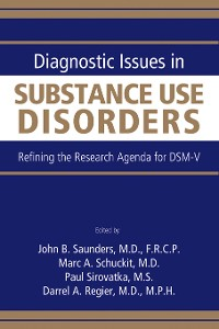 Cover Diagnostic Issues in Substance Use Disorders