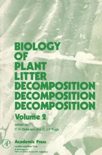 Cover Biology of Plant Litter Decomposition V2