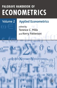 Cover Palgrave Handbook of Econometrics