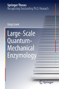 Cover Large-Scale Quantum-Mechanical Enzymology