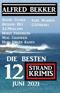 Cover Die besten 12 Strand Krimis Juni 2021