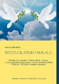 Cover RÉCONCILIATION FAMILIALE...