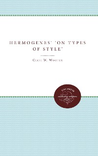 Cover Hermogenes' On Types of Style