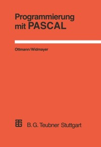 Cover Programmierung mit PASCAL