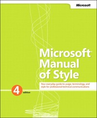Cover Microsoft Manual of Style