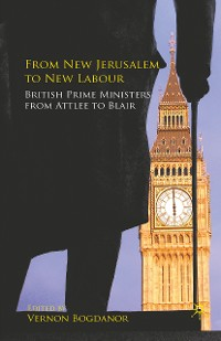 Cover From New Jerusalem to New Labour