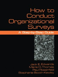 Cover How To Conduct Organizational Surveys