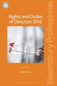 Cover Rights and Duties of Directors 2016