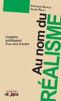 Cover Au nom du réalisme