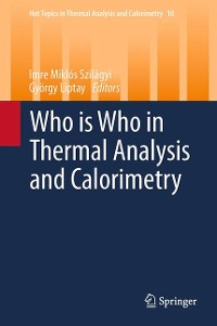 Cover Who is Who in Thermal Analysis and Calorimetry