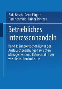 Cover Betriebliches Interessenhandeln