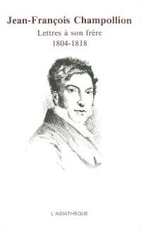 Cover Jean-François Champollion