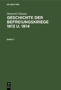 Cover Geschichte der Befreiungskriege 1813 u. 1814