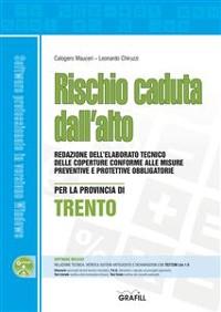 Cover Rischio caduta dall'alto per la provincia di Trento