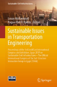 Cover Sustainable Issues in Transportation Engineering