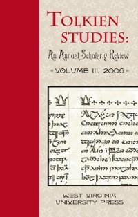 Cover Tolkien Studies