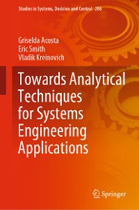 Cover Towards Analytical Techniques for Systems Engineering Applications