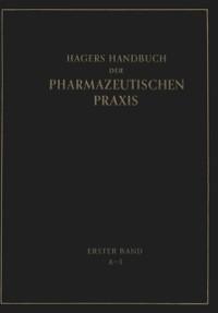 Cover Hagers Handbuch der Pharmazeutischen Praxis